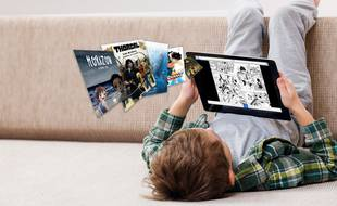 Izneo est le leader de la lecture numérique de BD en France, une pratique encore peu répandue mais en croissance