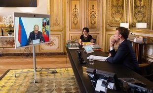 """Affaire Navalny: Macron dénonce une """"tentative d'assassinat"""", demande à Poutine une """"clarification"""" (Archives)"""