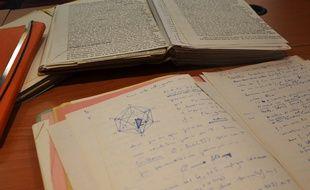 Les pages manuscrites étaient conservées à Montpellier à l'abri des regards, depuis 1991.
