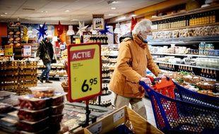 Un supermarché (image d'illustration).