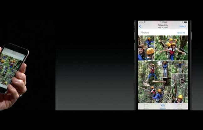 Avec Memories, l'application Photos permettra de retrouver ses images par thèmes.
