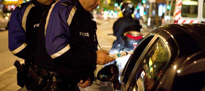 Le détenu a été arrêté ivre au volant, le premier jour de sa semi-liberté. (illustration)