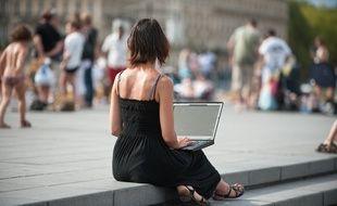 Le wifi public sur les quais a été mis en place fin 2011, début 2012. Photo : Sebastien Ortola