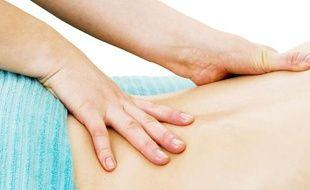 Illustration: Un massage.