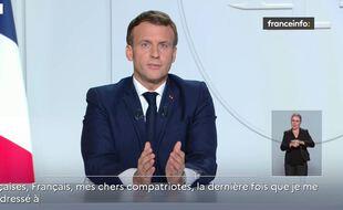 Allocution d'Emmanuel Macron