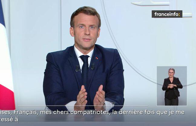 Coronavirus: Emmanuel Macron annonce un confinement national dès jeudi soir et jusqu'au 1erdécembre