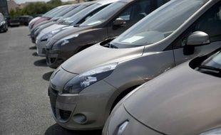 Les ventes de Renault en Europe ont chuté de 20% en mars 2012.