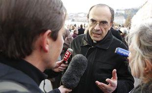 Lyon, le 17 novembre 2012. Monseigneur BARBARIN. CYRIL VILLEMAIN/20 MINUTES