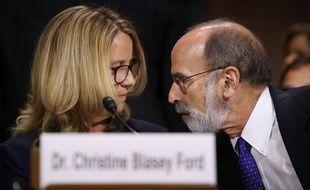 Brett Kavanaugh et son accusatrice, Christine Blasey Ford, vont chaque témoigner devant le comité judiciaire du Sénat américain pendant plusieurs heures, ce jeudi 27 septembre 2018.