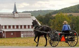 Les Amish constituent un groupe religieux qui vit à l'écart de l'ère moderne (illustration).