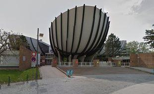 Le campus de la Croix-Rouge à Reims