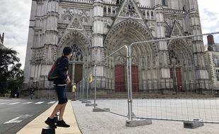 La cathédrale Saint-Pierre de Nantes, le 26 août 2020