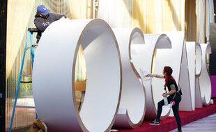 Atmosphère lors de la préparation de la 92e cérémonie des Oscars