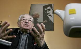 Le réalisateur polonais Andrzej Wajda, photographié le 17 décembre 2007, est mort le 9 octobre 2016 à l'âge de 90 ans.