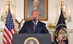 Donald Trump a clamé samedi 14 avril la réussite des frappes menées par Washington, Paris et Londres contre le régime syrien.