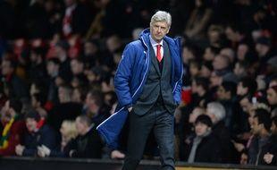 Arsène Wenger, manager d'Arsenal. AFP PHOTO / OLI SCARFF