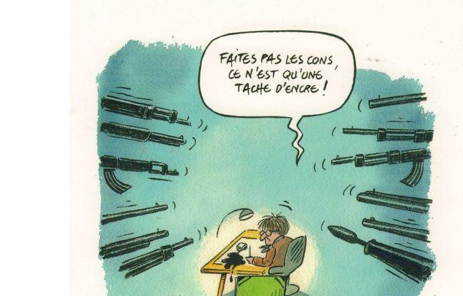 Dessin de Jean-Michel Delambre.