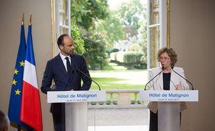 Edouard Philippe et Muriel Pénicaud présentent les ordonnances réformant le Code du travail