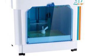 Pour moins de 800 euros, il est désormais possible de s'offrir une imprimante 3D personnelle, comme la 3D FreeSculpt.