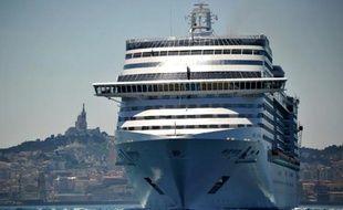 Un bateau de croisière à Marseille (photo d'illustration).