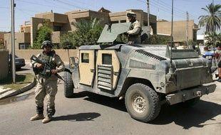 Des soldats américains ici en Irak