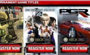 Ce soir, les joueurs de six villes américaines s'affronteront sur «Counter Strike», «Dead or Alive 4», «Project Gotham Racing» et «FIFA 07».