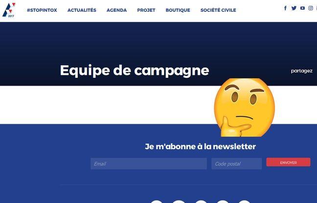 La nouvelle équipe de campagne tarde à arriver sur le site de Fillon