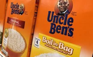 Un paquet de riz Uncle Ben's le 17 juin 2020 dans un supermarché des Etats-Unis.
