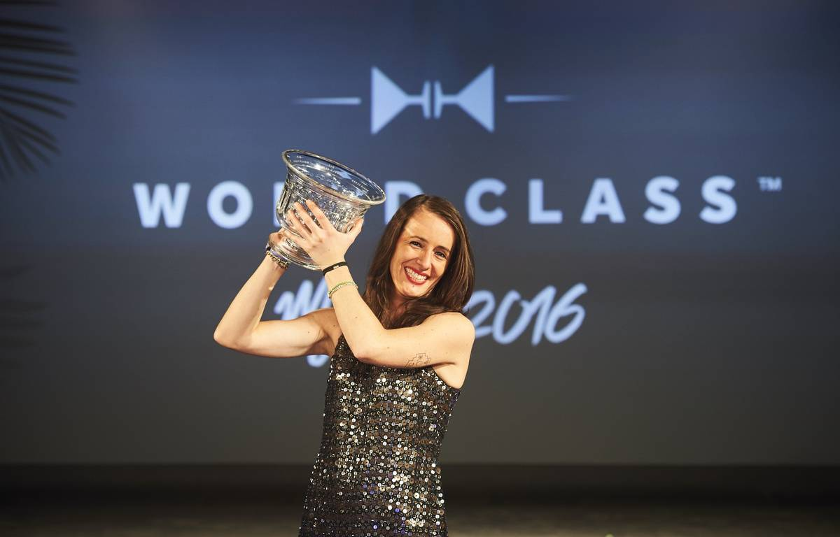 Jennifer Le Nechet, championne du monde des bartender! – Photo Diageo World Class