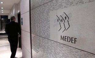Au siège du Medef à Paris, le 11 janvier 2013.