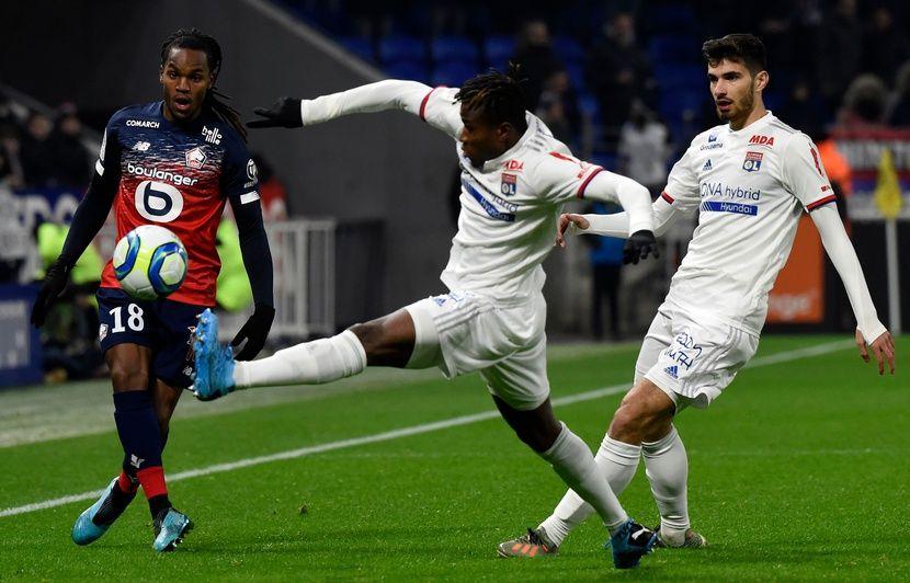 Ligue 1: Lille l'emporte à Lyon après un match d'une faiblesse abyssale (0-1)