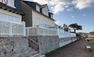 Dans la commune d'Erquy, 60% des logements sont des résidences secondaires.
