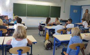 Marseille 08 SEPTEMBRE 2014 rentrÈe des classes au primaire