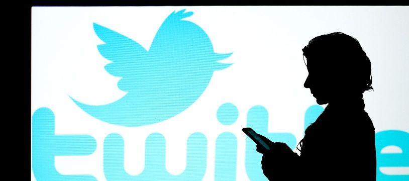 Le célèbre logo de Twitter.