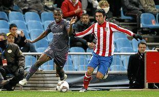 Foulquier avait eu un aperçu de la Liga face à l'Atlético Madrid en 2011-2012.