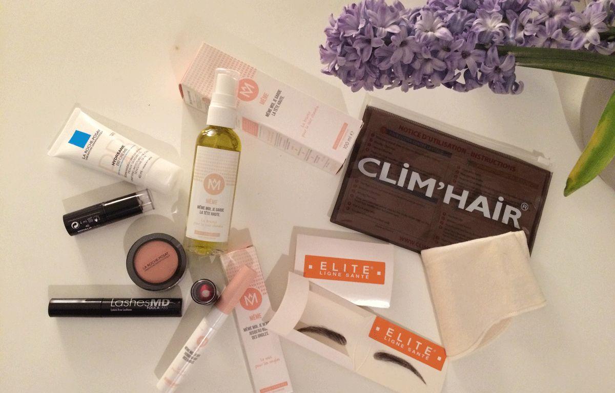 Plusieurs marques proposent des soins et produits cosmétiques permettant aux femmes touchées par le cancer d'allier confort et beauté. – A. Boumediene / 20 Minutes