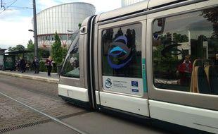 Le tram de Strasbourg (illustration).
