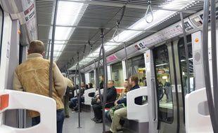 La 4G sera bientôt disponible dans le métro lyonnais. Illustration