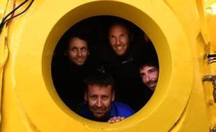 Les membres de l'expédition « Planète Méditerranée» vont explorer les fonds pendant un mois dans une capsule