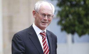 Herman von Rompuy, président du Conseil européen, le 9 septembre 2010.