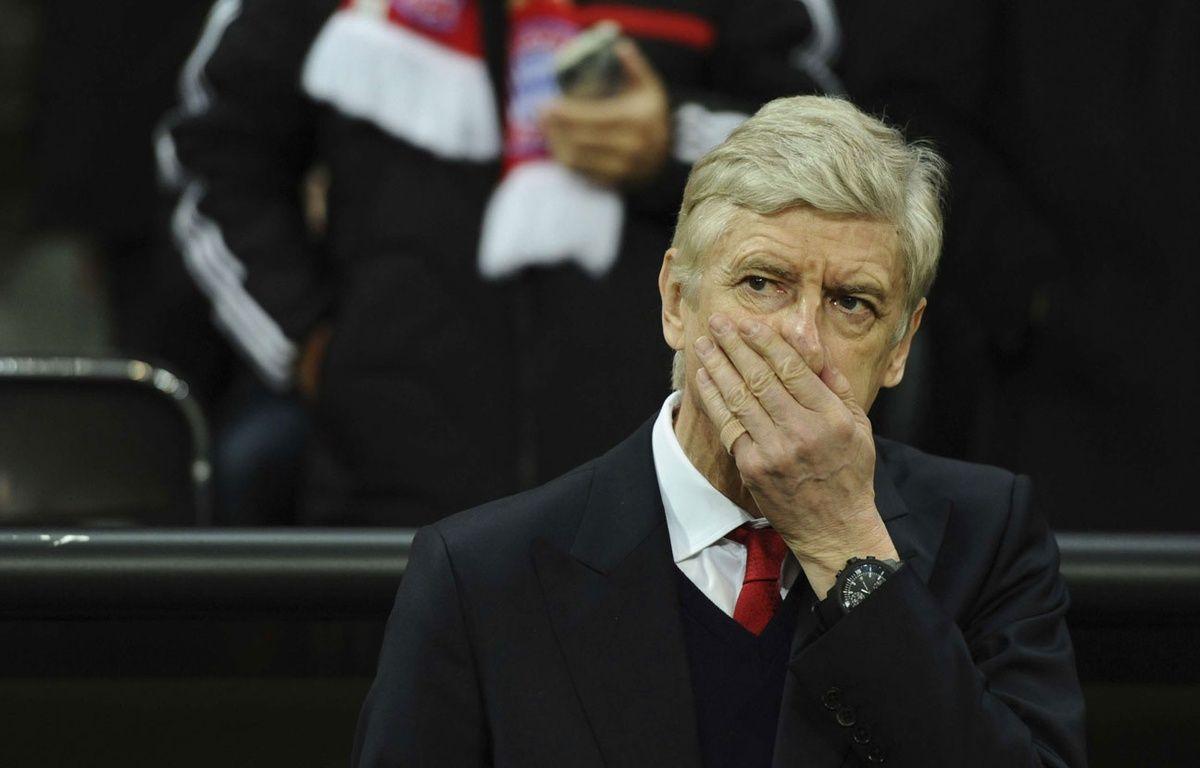 Arsène Wenger lors du match entre le Bayern Munich et Arsenal le 15 février 2017. –  Sven Hoppe/AP/SIPA