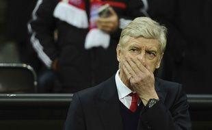 Arsène Wenger lors du match entre le Bayern Munich et Arsenal le 15 février 2017.