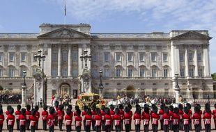 Le palais de Buckingham Palace, à Londres