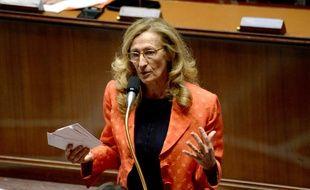 La ministre de la Justice, Nicole Belloubet, le 25 septembre 2019 à l'Assemblée nationale.