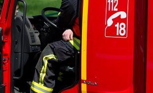 Courbevoie le 14 mai 2012. Illustration sapeurs pompiers