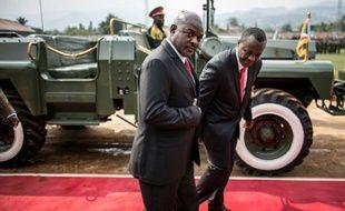 Le président du Burundi Pierre Nkurunziza, le 1er juillet 2015 à Bujumbura