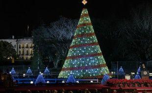 Le président Barack Obama, le 4 décembre 2014 à Washington