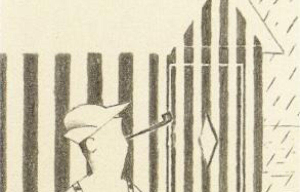 Un des fusains de David Merveille. –  D.Merveille/Rouergue/Racine