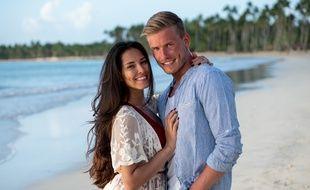 Dans «La Villa, la bataille des couples», Tom aux côtés d'Hagda