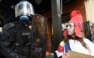 "Un policier et une ""Mariane"""
